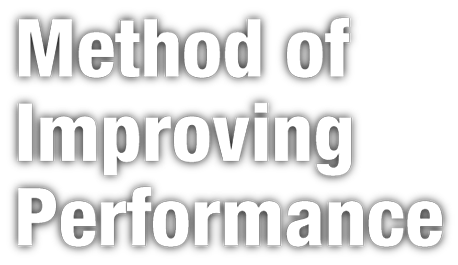 Method Of Inproving Performance