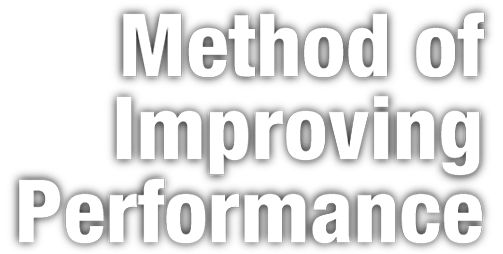 Performance up Method