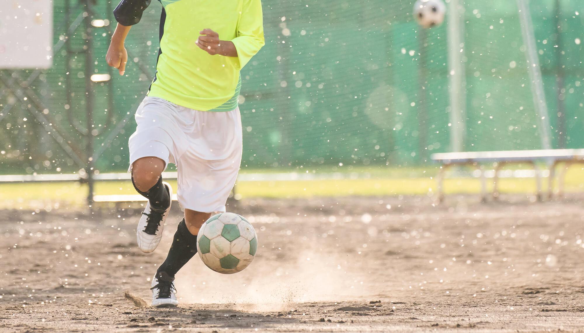 きのこでスポーツトレーニング