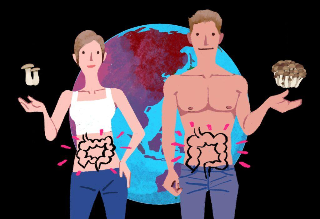 歴史が育んだ、きのこの効果と人体の秘密<br>第5回 菌との共生が私たちの体内の循環と健康を支えている?!