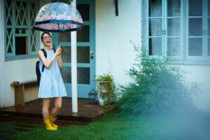 梅雨を五感で楽しむ