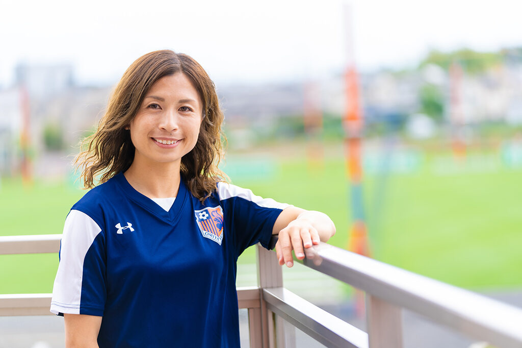 プロアスリートを支える食事に迫る。第10回 女子サッカー・鮫島彩選手インタビュー