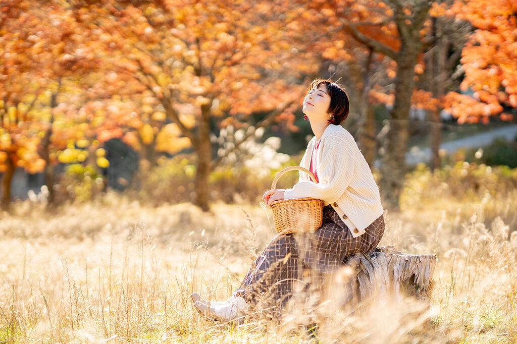 秋晴れの下、自然の恵みを楽しもう!